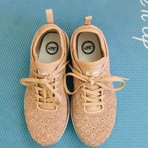 APL Rose Gold Shoes Size 7